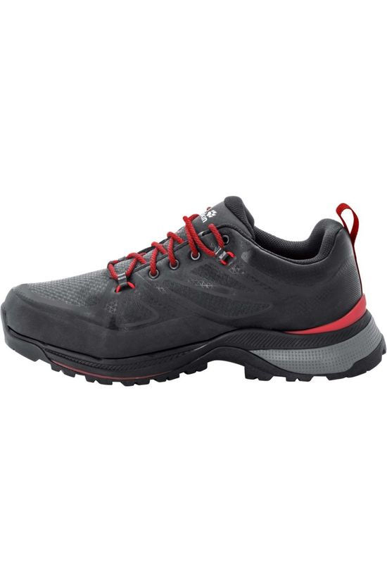 Jack Wolfskin Shoe Force Striker Texapore dark grey/red