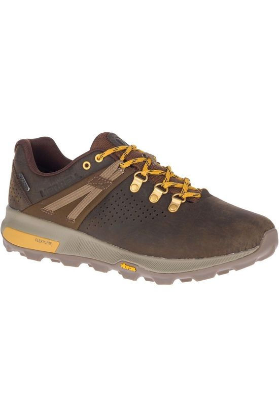Merrell Shoe Zion Peak WP brown/yellow