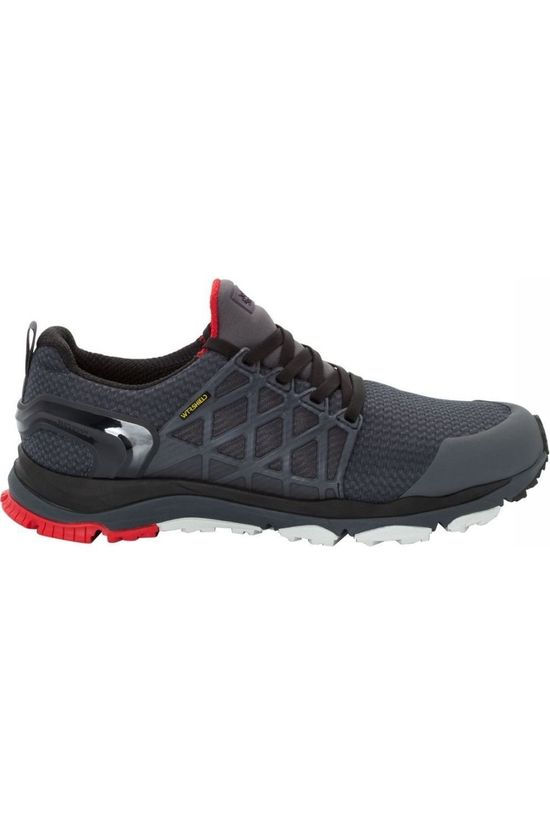 Jack Wolfskin Shoe Trail Invader Shield Low dark grey/red