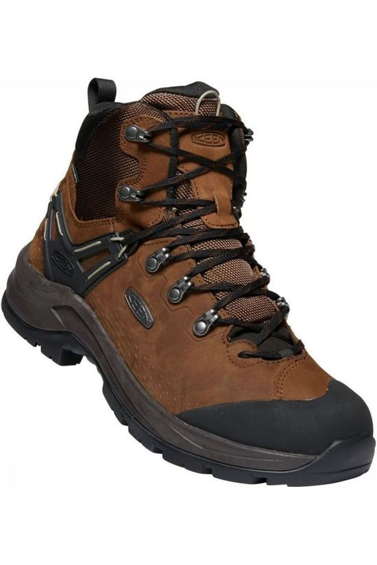 Keen Shoe Wild Sky Mid WP dark brown/black