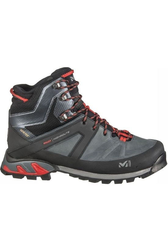 Millet Shoe Highroute black/red