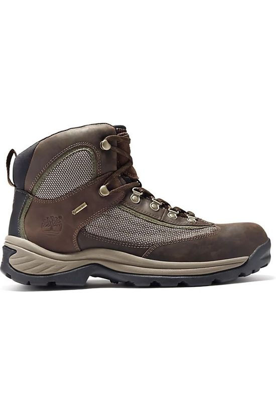 Timberland Schoen Plymouth Trail Mid Leather GTX Middenbruin/Donkerbruin