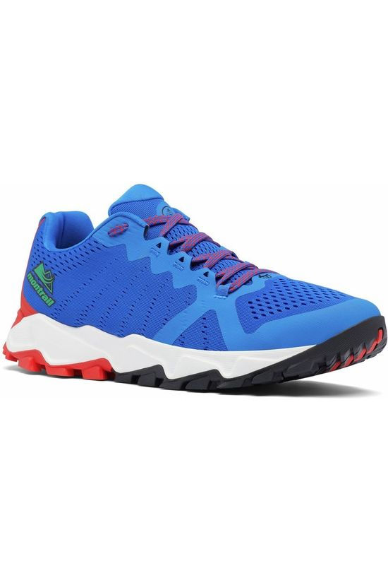 Columbia Chaussure Trans Alps F.K.T. III Utmb Bleu Roi/Orange