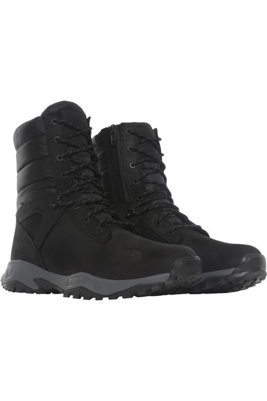 The North Face Chaussure D'Hiver Thermoball Boot Zip-Up Noir/Gris Foncé