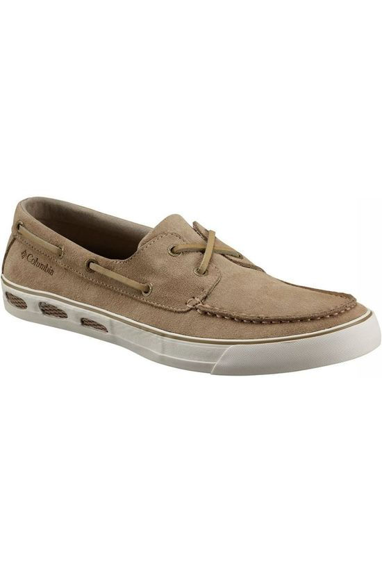 Columbia Shoe Vulc n Vent Boat Suede dark brown