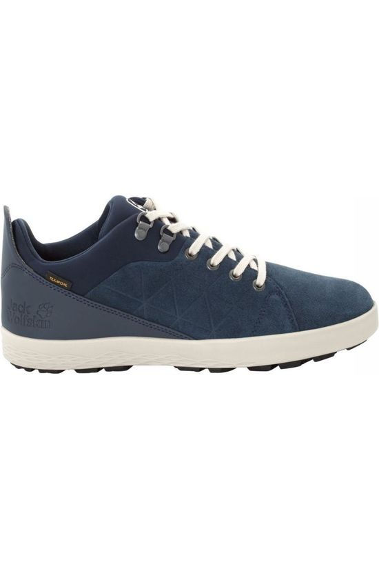 Jack Wolfskin Shoe Auckland Texapore Low mid blue