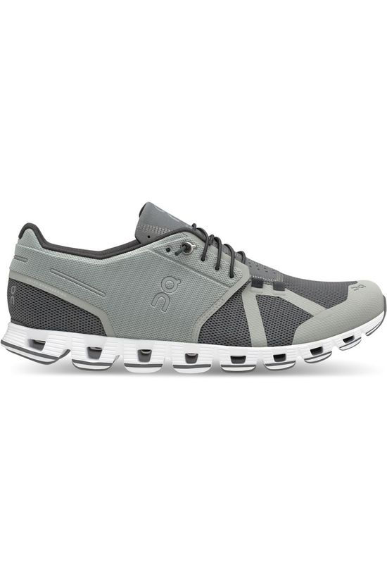 On Running Shoe Cloud light grey/mid grey