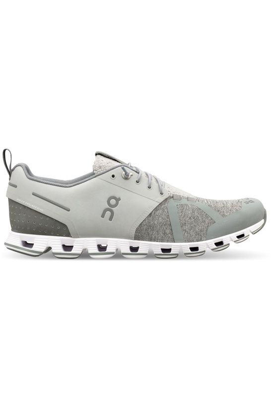 On Running Shoe Cloud Terry light grey/mid grey