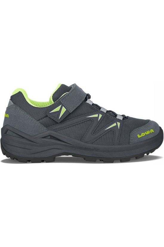 Lowa Shoe Innox Pro Gore-Tex Vcr Dark Grey/Lime Green