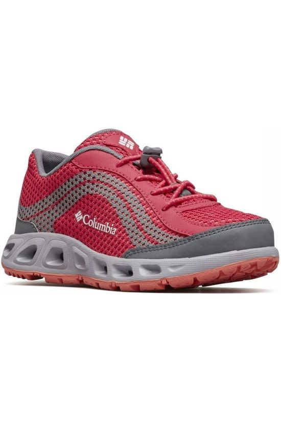 Columbia Chaussure  Drainmaker IV Rouge/Gris Moyen