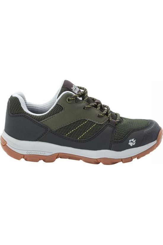 Jack Wolfskin Shoe Mtn Attack 3 mid green/black