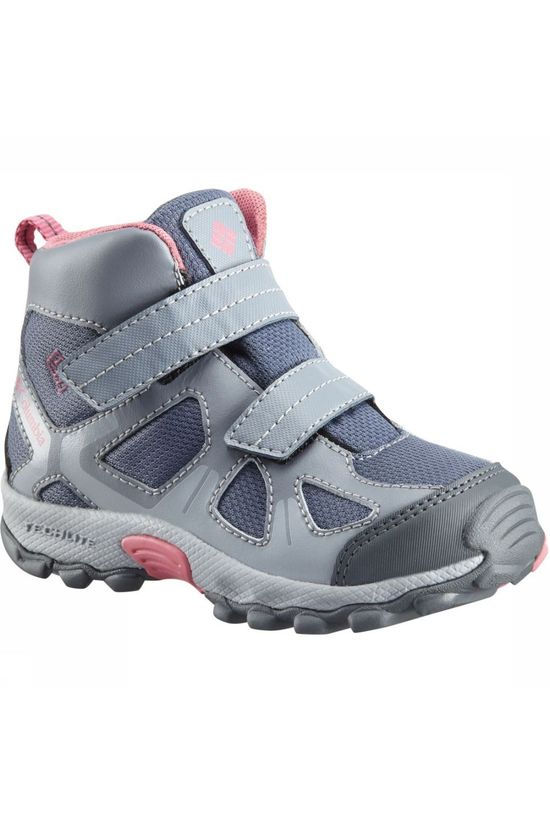 Columbia Chaussure Peakfreak Xcrsn Mid WP Gris Clair/Rose Clair