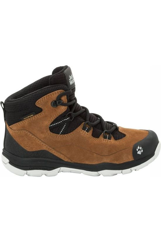 Jack Wolfskin Shoe Mtn Attack 3 Lt Texapore Camel Brown/Black