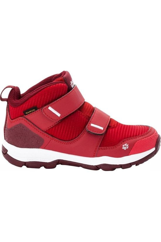 Jack Wolfskin Chaussure Mtn Attack 3 Texapore Rouge/Rouge Foncé