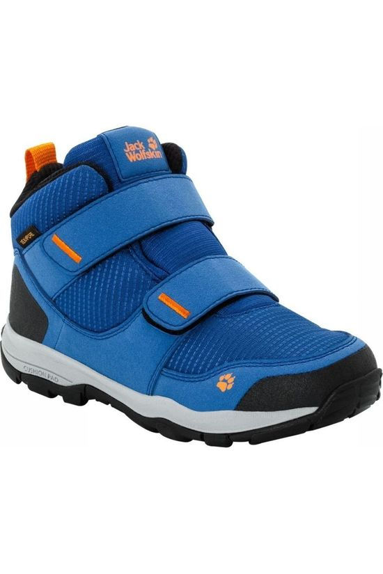 Jack Wolfskin Chaussure Mtn Attack 3 Texapore Bleu Roi/Orange
