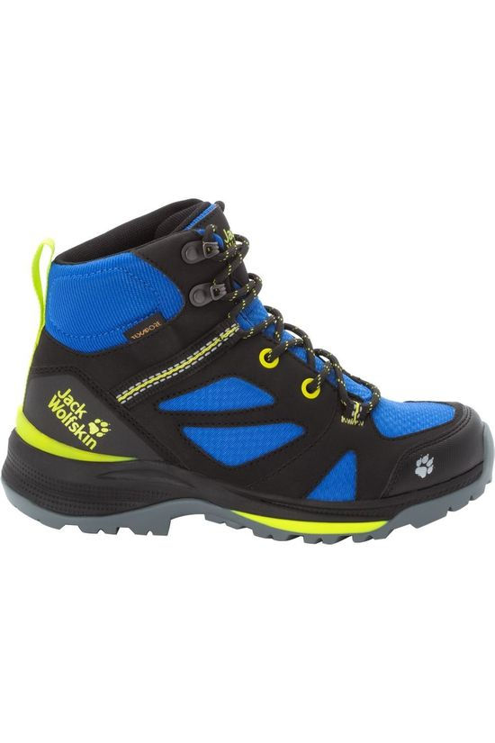 Jack Wolfskin Shoe Force Striker Texapore Mid black/royal blue