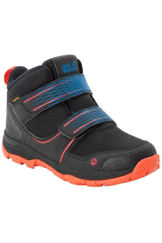 Jack Wolfskin Shoe Mtn Attack 3 Texapore Mid Vc black/orange