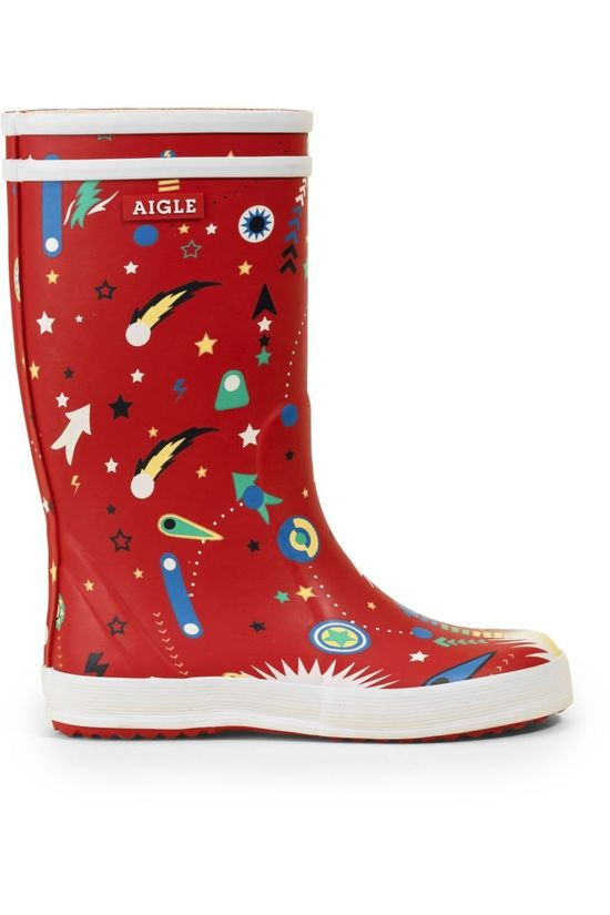 Aigle Laars Lolly Pop Fun Rood/Assorti / Gemengd