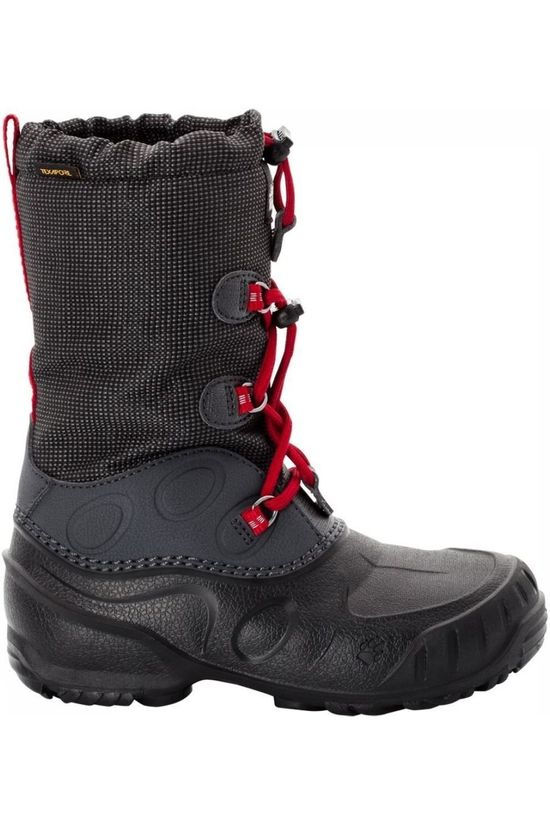 Jack Wolfskin Winter Boot Iceland Texapore High black/red