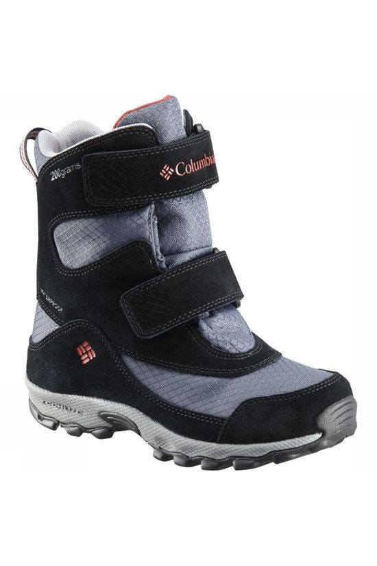 Columbia Winter Boot Youth Parkers Peak mid grey/black