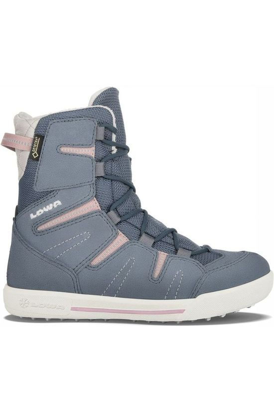 Lowa WINTER BOOT LOW LILLY II GTX MID mid grey/mid pink