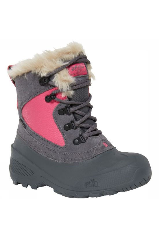 The North Face Winterschoen Shellista Extreme Middengrijs/Fuchsia