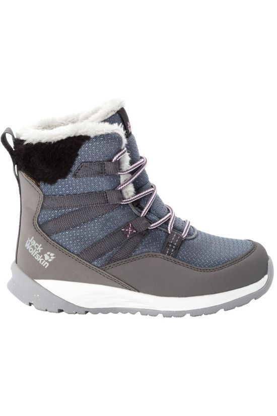 Jack Wolfskin Winter Boot Polar Wolf Texapore High mid grey/white