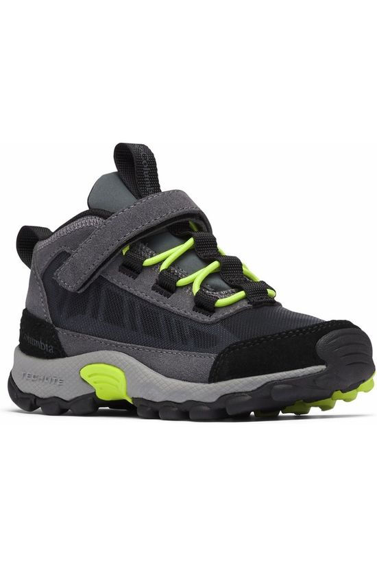 Columbia Shoe Flow Borough Dark Grey/Lime Green