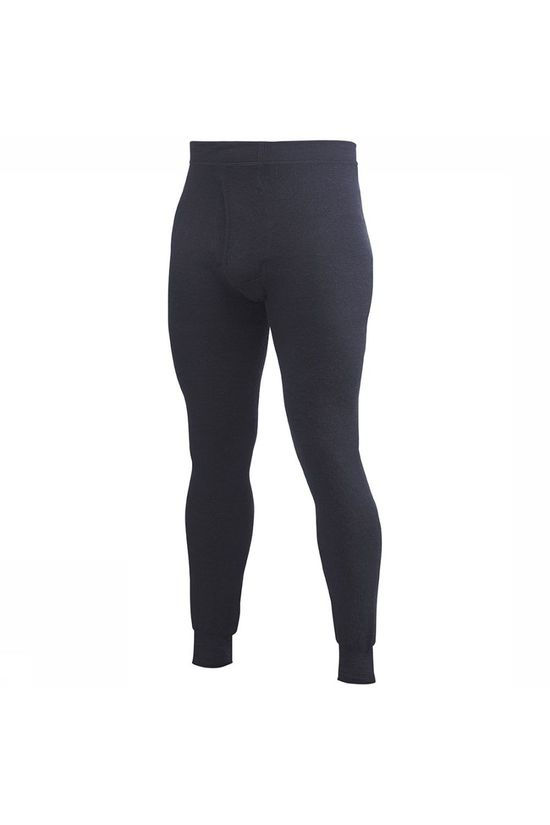 Woolpower Underwear Long Johns W Fly 400 (very warm baselayer for men) dark blue