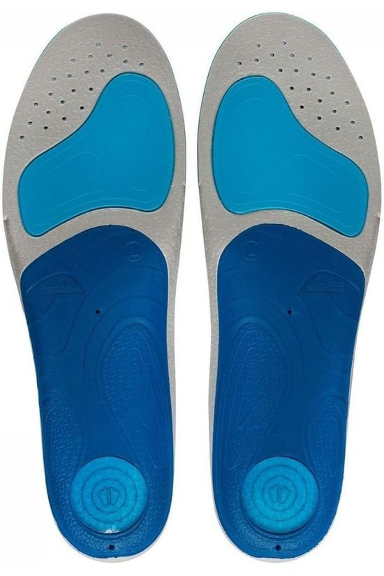 Sidas Inlegzool 3 Feet Run Protect Low Geen kleur / Transparant