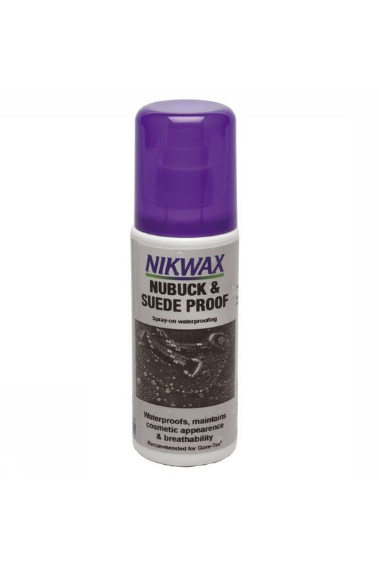 Nikwax Maintenance Nubuck & Suede Spray On 125ml No colour / Transparent