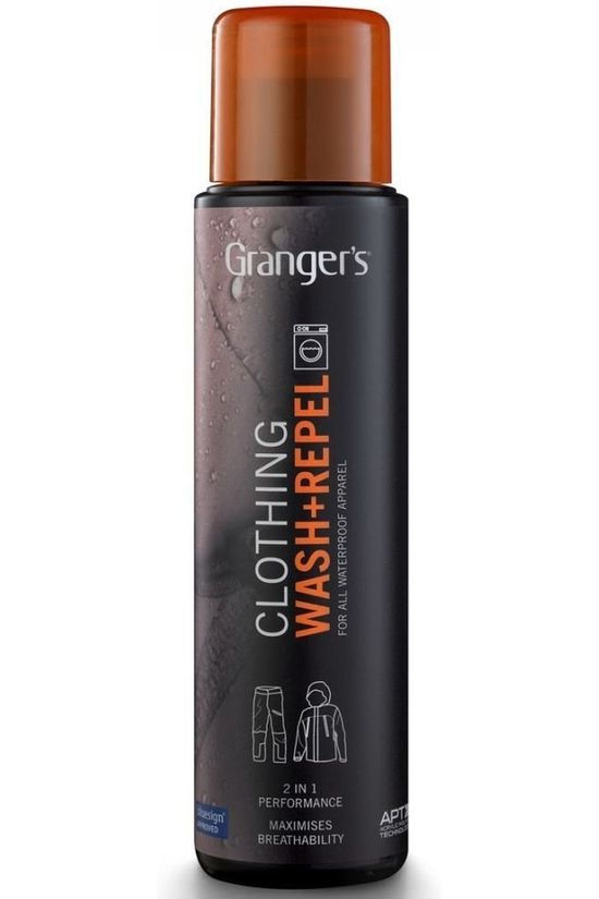 Grangers Onderhoud 2in1 Wash & Repel 300Ml Geen kleur / Transparant