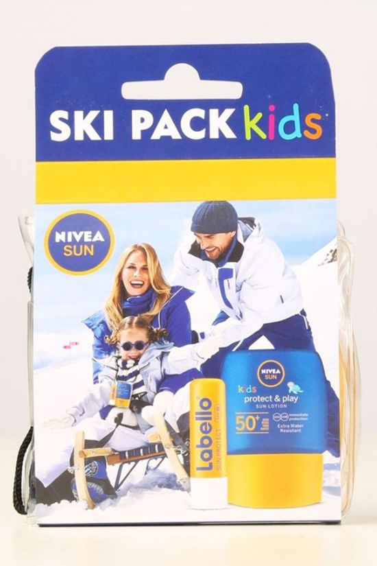 Nivea Sun Protection Ski Pack Kids No colour / Transparent