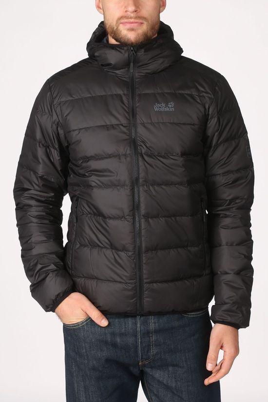Jack Wolfskin Down Jacket Helium black