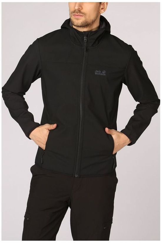 Jack Wolfskin Softshell Northern Point black