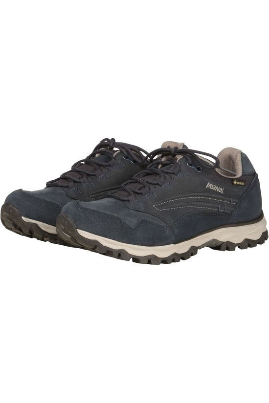 Meindl Shoe Terni Lady Low Gore-Tex Navy Blue