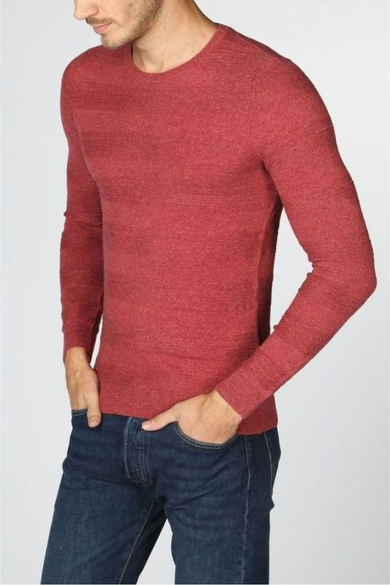Tom Tailor Pullover 1006218 mid red