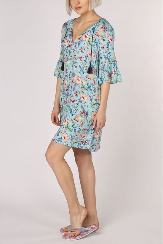 Esprit Jurk South  Acc Tunic Turkoois