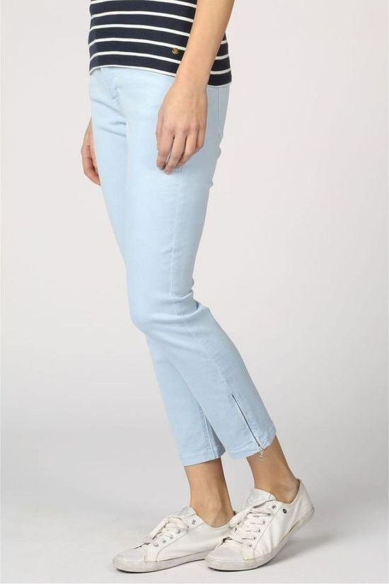 MAC Jeans Dream Chic Zip Lichtblauw (Jeans)