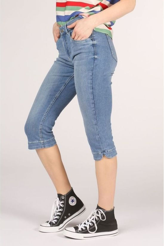 MAC Broek Dream Capri Middenblauw (Jeans)