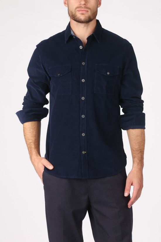 Camel Active Shirt 4091274S27 dark blue