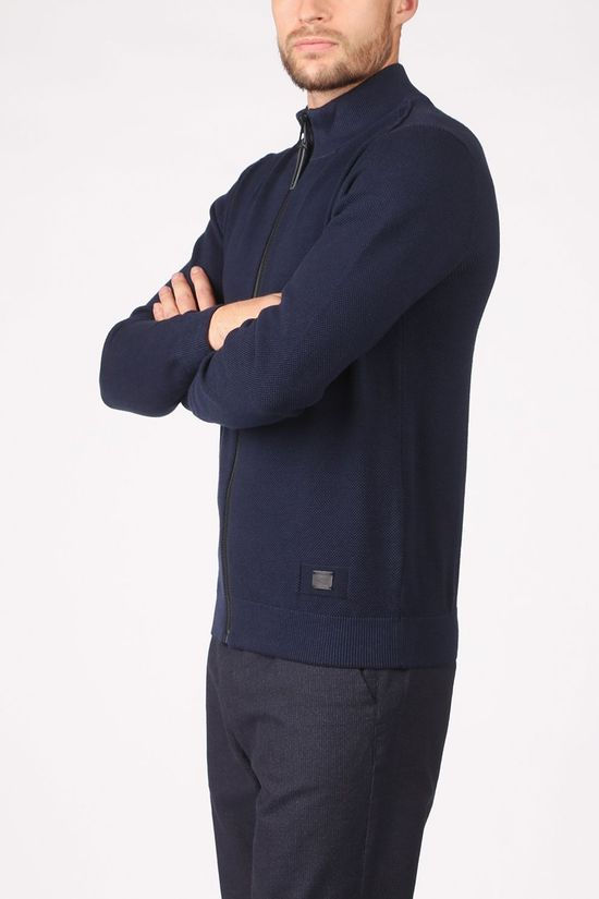 Camel Active Cardigan 4095144K14 dark blue