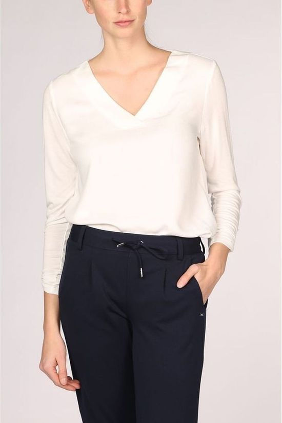 Tom Tailor Blouse 1016125 Blanc