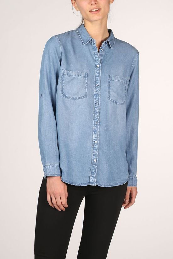 Tom Tailor Shirt 1016200 light blue