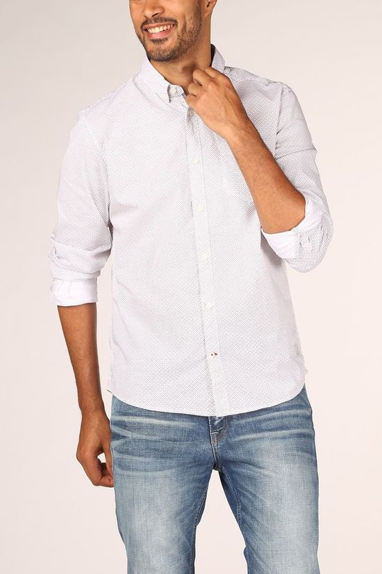 Tom Tailor Shirt 1021527 White/Ass. Geometric