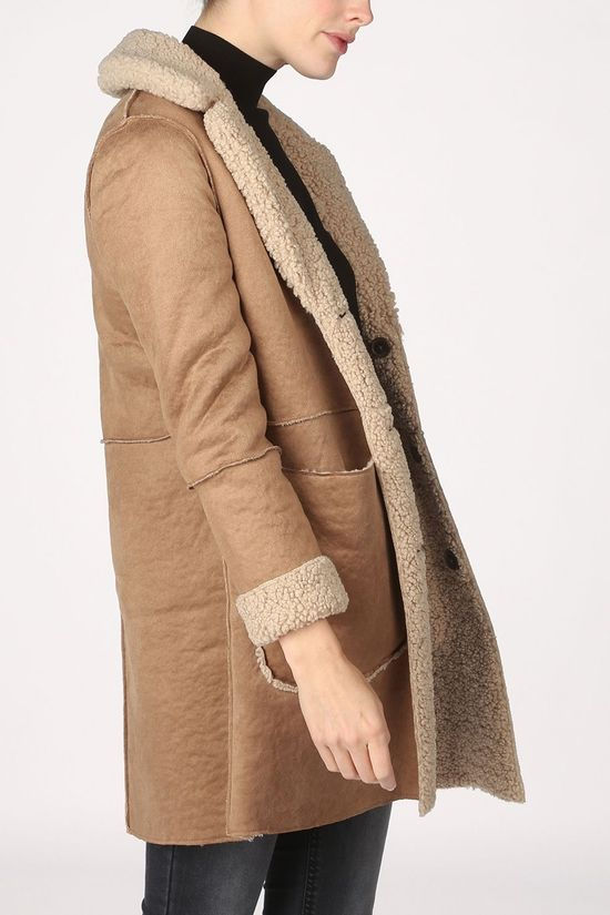 Tom Tailor Coat 1020616 light brown