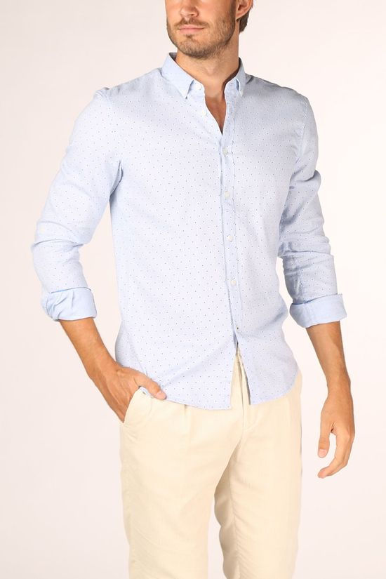 Tom Tailor Shirt 1021427 Light Blue/Ass. Geometric