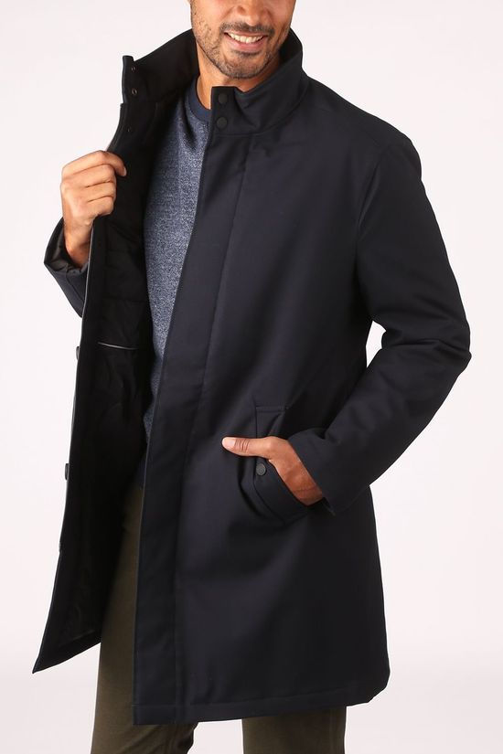Esprit Coat 080Eo2G304 dark blue