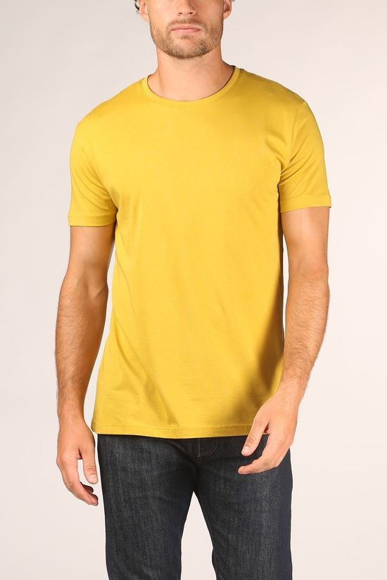 Esprit T-Shirt 070Ee2K336 dark yellow