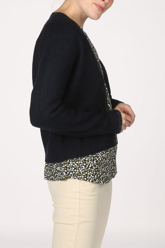 Tom Tailor Cardigan 1022085 Bleu Marin